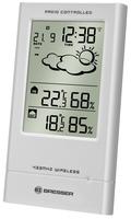 Laika stacija Bresser TempTrend Sudraba (7004000) barometrs, termometrs