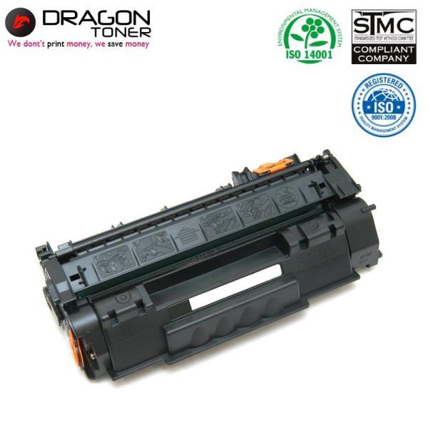 Dragon HP Q5949A Q7553A / Canon CRG 715 CRG 708 Lāzerdrukas kasete 2.5K Lapas HQ Premium Analogs toneris