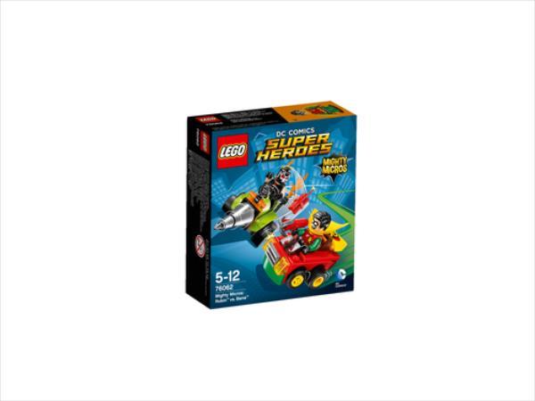 LEGO Mighty Micros:Robin vs. Ba..V29  76062 LEGO konstruktors