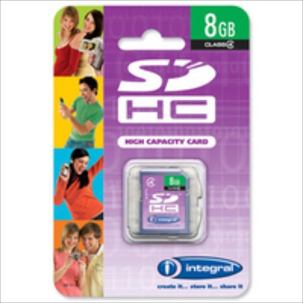 Integral SDHC 8GB CL4 atmiņas karte