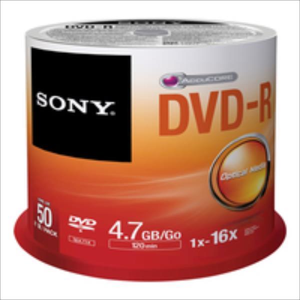 Sony DVD-R 4,7 GB | 16x [cake 50 pcs] matricas