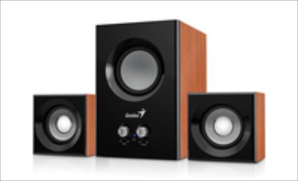 Genius Speakers SW-2.1 375, Wood datoru skaļruņi