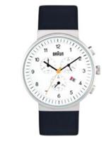 Zegarek Braun BN0035 Classic Chronograph Balts  66504 Rokas pulksteņi