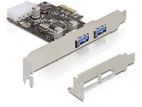 Delock 2x USB 3.0 PCI Express card karte