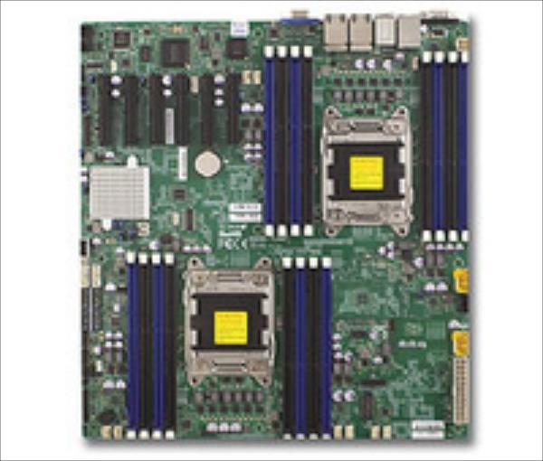 MBD-X9DRD-EF-O, Dual LGA 2011,16xDIMM, 6xPCIe, 2xGbE, 6x SATA , retail pamatplate, mātesplate