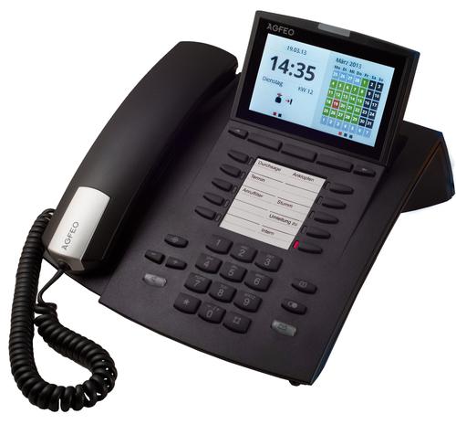 Systemtelefon AGFEO ST45 IP black telefons