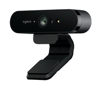 Logitech BRIO 4K Ultra HD-Webcam with RightLight 3 and HDR web kamera