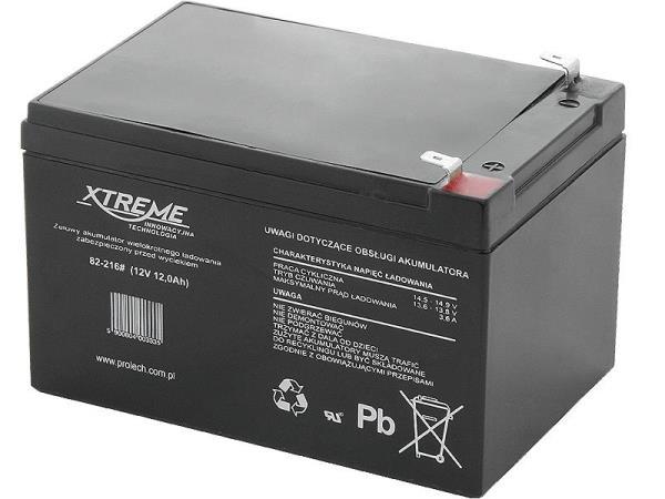 XTREME Rechargeable battery 12V 12Ah UPS aksesuāri