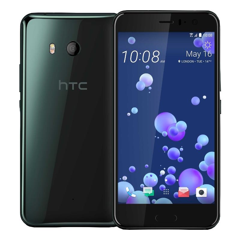 "HTC U11 Brilliant Black, 5.5 "", Super LCD5, 1440 x 2560 pixels, Qualcomm Snapdragon, 835, Internal RAM 4 GB, 64 GB, microSD, Dual S Mobilais Telefons"