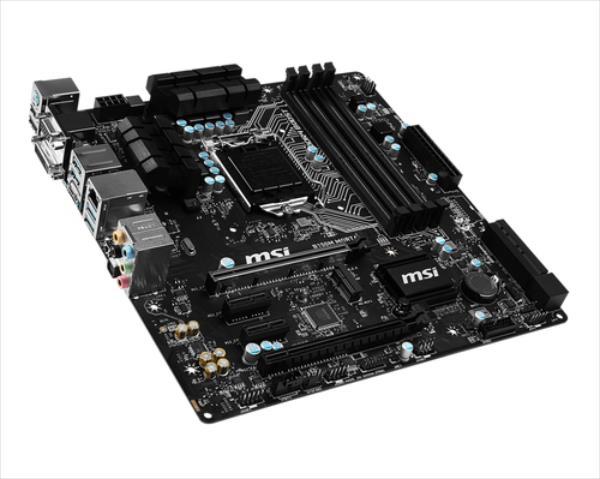 MB MSI B150M MORTAR   (B150,S1151,mATX,DDR4,Intel) pamatplate, mātesplate