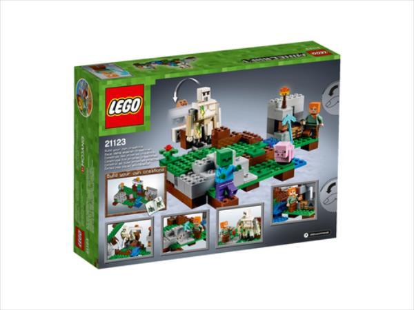 LEGO The iron Golem V29  21123 LEGO konstruktors