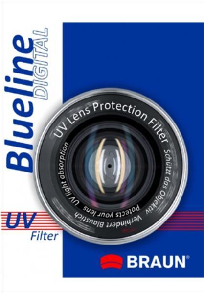 BRAUN  Bluline UV 55mm UV Filtrs