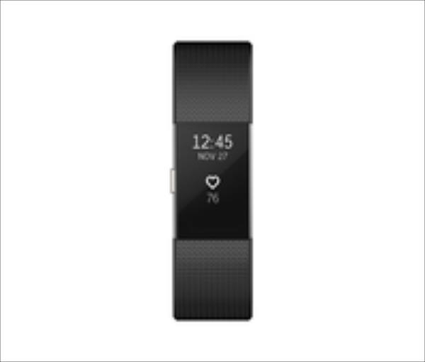 Fitbit Flex Charge 2  FB407SBKL Large Black Viedais pulkstenis, smartwatch