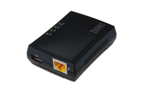 DIGITUS 1-Port USB 2.0 Multifunction Network Server Printserveris