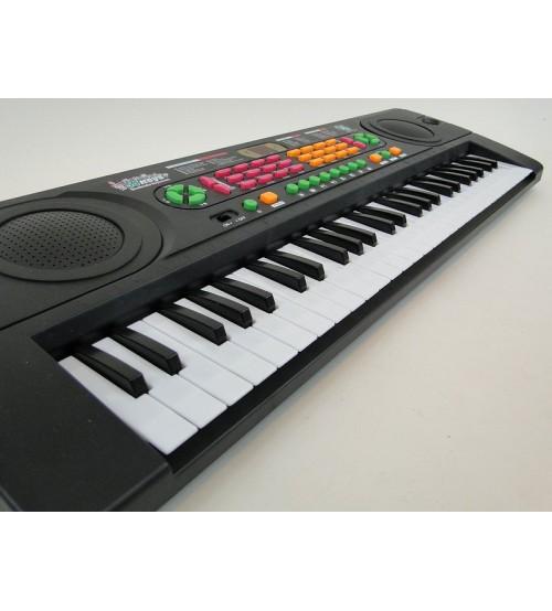Adar Bērnu sintezators  54 mini taustiņi ar mikrof. un adapteri 229938 69x23x7cm mūzikas instruments