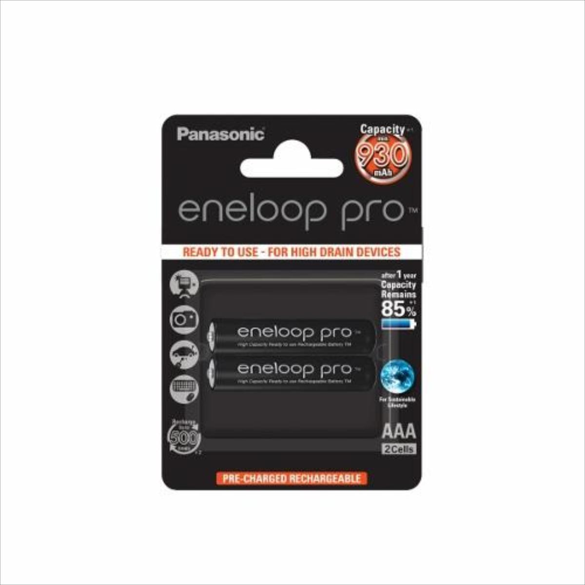Panasonic Eneloop Pro R03/AAA 930mAh, 2 Pcs, Blister Baterija