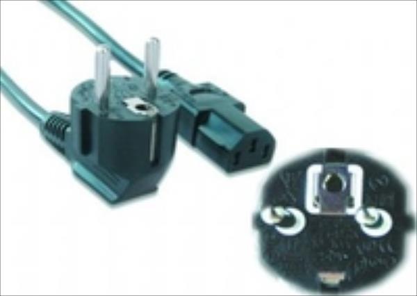 Gembird power cord VDE 10ft kabelis datoram