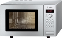 Bosch Microwave HMT75G451 +Grill 800W silver Mikroviļņu krāsns