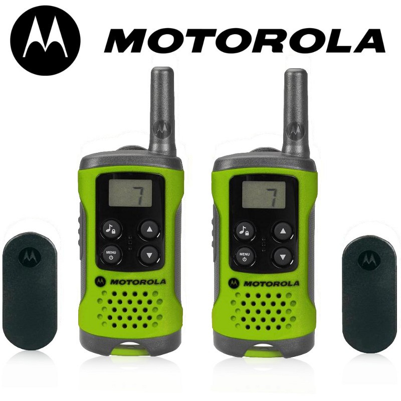 Motorola T41 short-wave radio, 4km, green rācijas