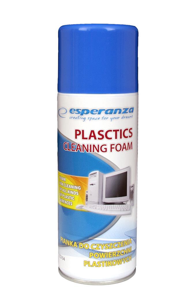 ESPERANZA Plastic Foam Cleaner 400ml ES104 tīrīšanas līdzeklis