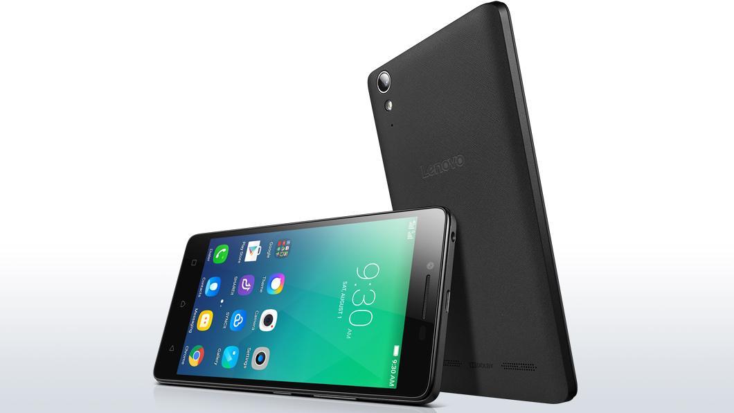 Lenovo A6010 Dual Sim 16GB black ENG/RUS O-MLX00908 Mobilais Telefons