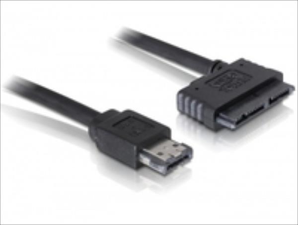 Delock Cable eSATAp > Micro SATA 16pin 0,5m kabelis datoram