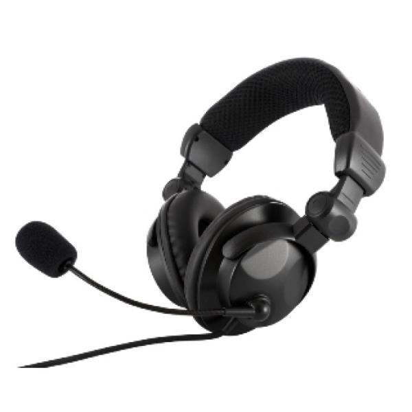 MODECOM HEADPHONES MC - 826 HUNTER BLACK austiņas