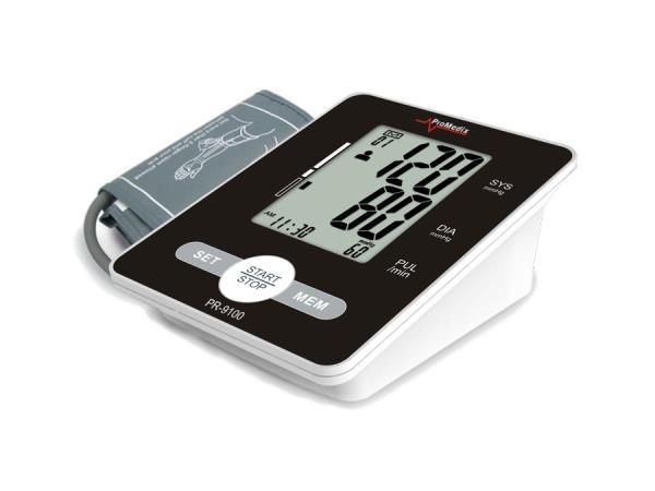 ProMedix Blood pressure monito PR-9100 + cover and charger asinsspiediena mērītājs