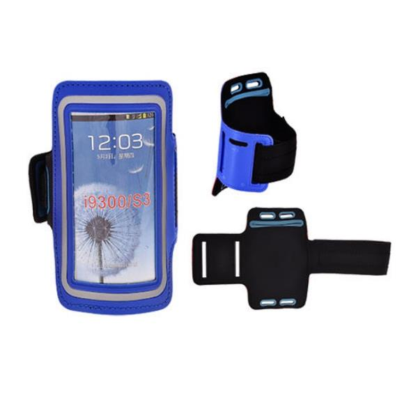 Telone Universāls (13.7x7cm) Maks - Sporta Rokas Aproce - Fitnesam Zils Viedais pulkstenis, smartwatch