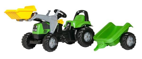 Traktors ar pedāļiem rollyKid Deutz-Fahr Agropuls 420 (2.5-5g.)