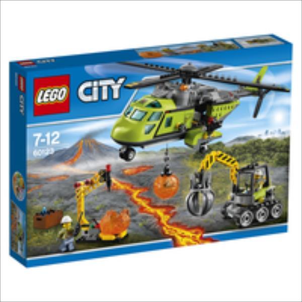 LEGO Volcano Supplay Helicopter V29  60123 LEGO konstruktors