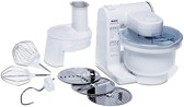 Bosch food processor. MUM 4426 - 500W - white (MUM4426) Virtuves kombains