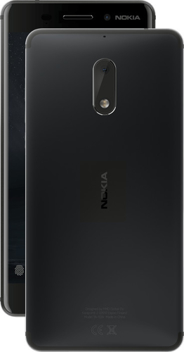 Nokia 6 Dual SIM 32GB Android black Mobilais Telefons