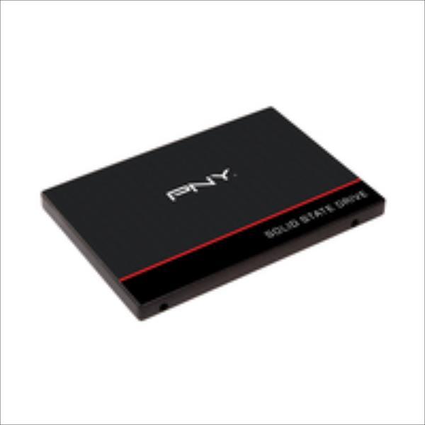 PNY SSD CS1311 240GB 2.5'', SATA III 6GB/s, 550/520 MB/s, IOPS 87/90K, 7mm SSD disks