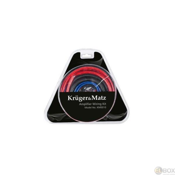 Kruger&Matz Auto audio instalācijas vadu komplekts 4GA(20mm2) auto audio aksesuārs