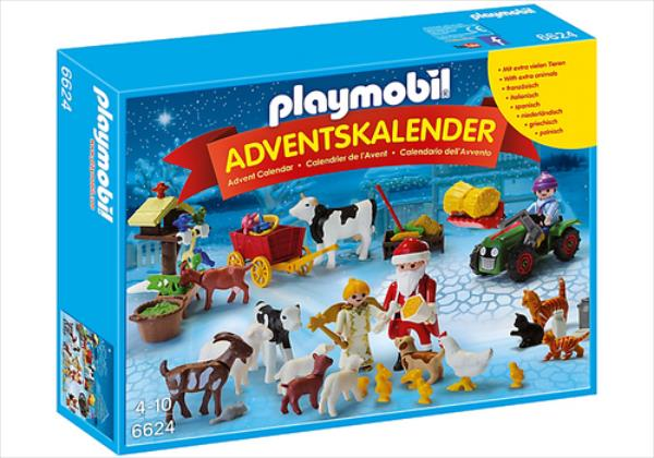 Playmobil Adventes kalend rs Christmas 6624 56pcs konstruktors