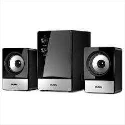 SVEN MS-90, black, 2.1 speakers, power output 10W+2x2.5W (RMS) datoru skaļruņi