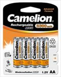 Camelion Rechargeable Batteries Ni-MH 4x AA (R06) 2700mAh + Battery case Baterija