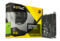 ZOTAC GeForce GTX 1050 Ti Mini 128bit 4GB GDDR5 DVI-D, HDMI, Display Port 1.4 video karte