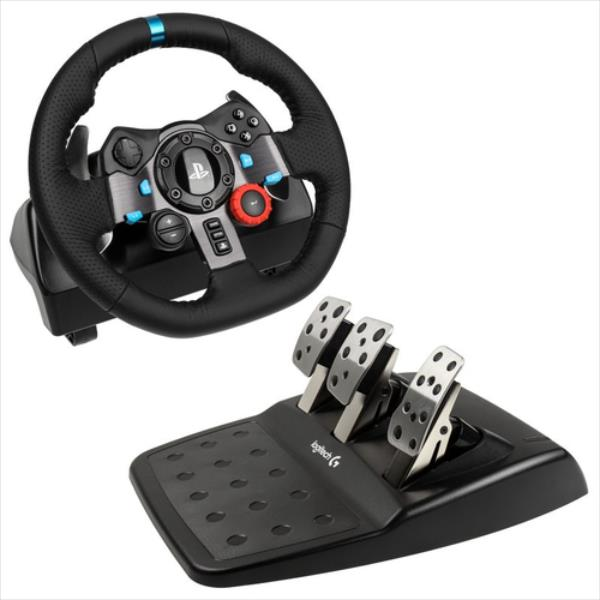 Logitech G29 Racing Wheel PS4/PS3/PC spēļu konsoles gampad