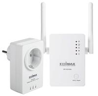 Powerline Edimax HP-5101WnK Kit (500MBit/AC/Steckdose) WiFi Rūteris