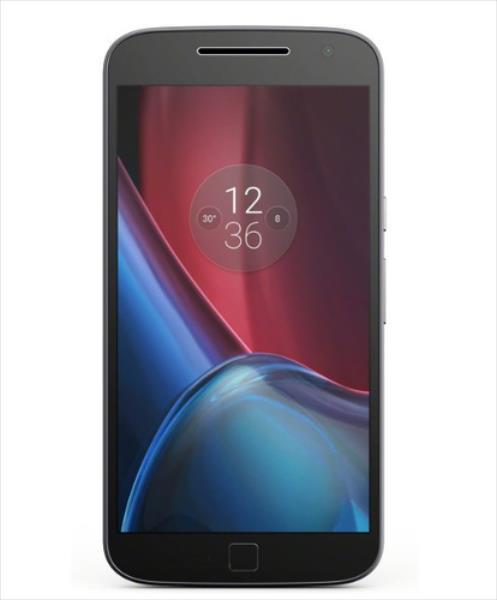 Motorola Moto G4 Plus 4G 16GB Dual-SIM black EU Mobilais Telefons