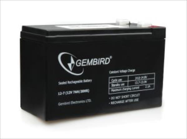 Gembird Battery 12V 7AH for UPS UPS aksesuāri