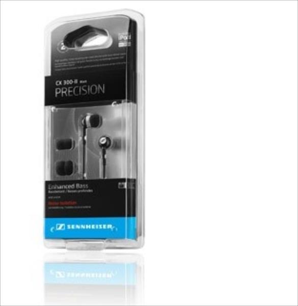 SENNHEISER CX 300-II Precision Black ear-canal phones