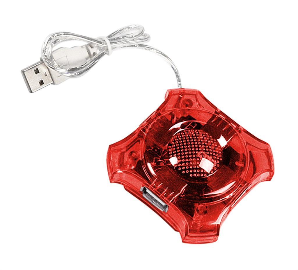 ESPERANZA EA150R Hub 4 Port USB 2.0 -STAR USB centrmezgli