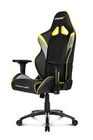 AKRACING Overture Gaming Stuhl Gaming Chair AK-OVERTURE-YL black / gelb datorkrēsls, spēļukrēsls