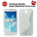 Telone Back Case S-Case gumijots telefona apvalks Samsung N7 aksesuārs mobilajiem telefoniem