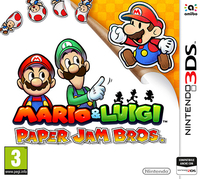 Mario & Luigi Paper Jam Bros. 3DS Spiel spēle