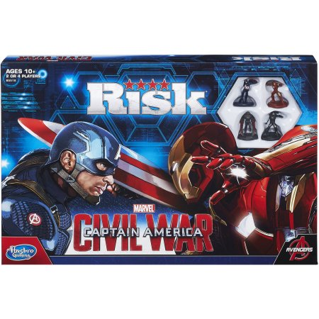 Captain America Hasbro Risk: Captain America: Civil War galda spēle