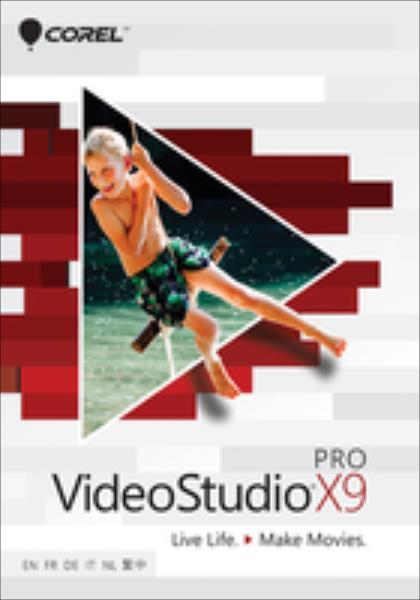VideoStudio Pro X9   ML   VSPRX9MLMBE programmatūra